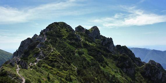 vrchol ´Veľkého Rozsutca - cesta zo sedla Medzirozsutce